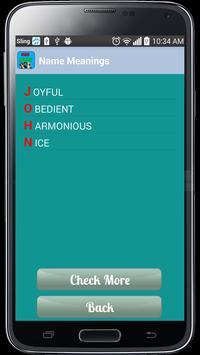 Name Meanings apk screenshot