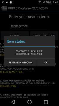 OffPAC UPSI apk screenshot