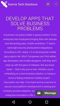 Karma Tech Solutions Pvt. Ltd. apk screenshot
