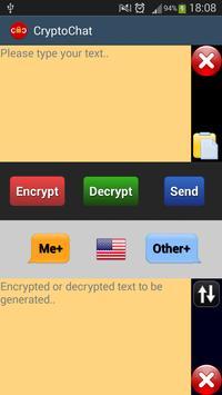 CryptoChat poster