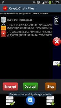 CryptoChat apk screenshot