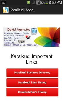 Karaikudi Apps Latest V.1 apk screenshot
