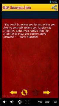 Great Motivational Quotes App apk screenshot