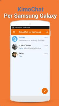 KimoChat for Samsung poster