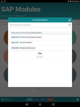 SAP Tcode apk screenshot