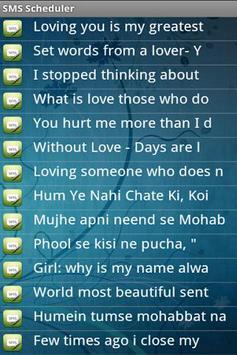 SMS Scheduler apk screenshot