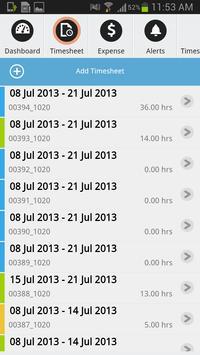 Time and Expense - Dynamics AX apk screenshot