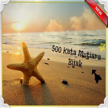 500 Kata Mutiara Bijak poster