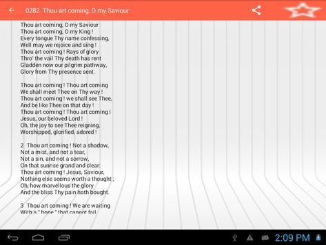SACRED SONGS AND SOLOS apk screenshot
