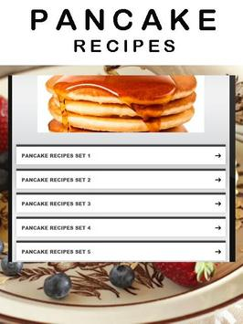 Pancakes recipes poster
