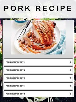 Pork Recipe apk screenshot