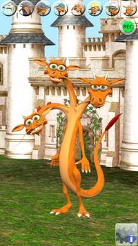 Talking 3 Headed Dragon apk screenshot