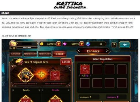Guide Kritika Indonesia apk screenshot