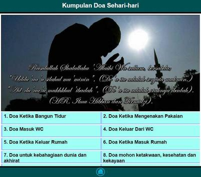 Kumpulan Doa Sehari Hari apk screenshot