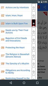 40 Hadith of Imam An-Nawawi apk screenshot