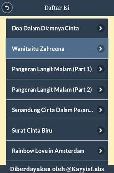 Cerpen Cinta Islami apk screenshot