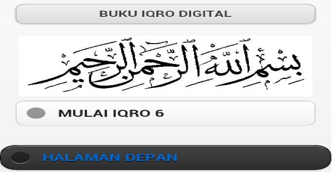 IQRA 6 apk screenshot