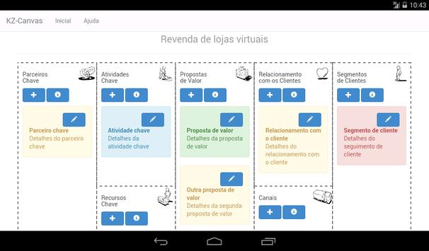 Business Model Canvas Lite apk screenshot