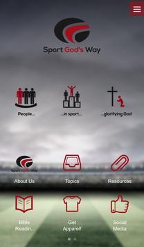 Sport God's Way poster