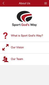 Sport God's Way apk screenshot