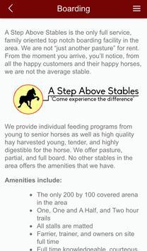 A Step Above Stables apk screenshot