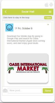 Oasis International Market apk screenshot