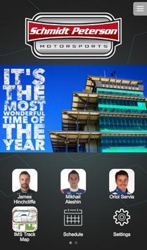 Schmidt Peterson Motorsports poster