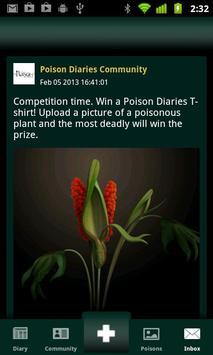 Poison Diaries apk screenshot