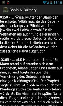 Sahih Al Bukhari (Deutsch) apk screenshot