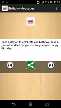 Birthday Messages apk screenshot