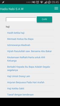 Hadis Nabi s.a.w apk screenshot