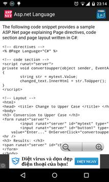 ASP.NET Language poster
