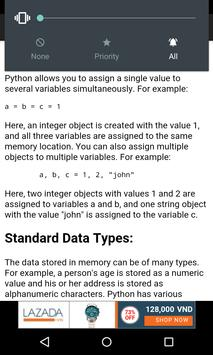 Python programming language poster