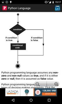 Python programming language apk screenshot