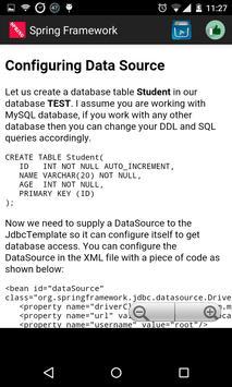 Spring Framework apk screenshot