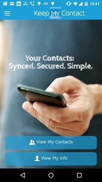 Keep My Contact Beta poster