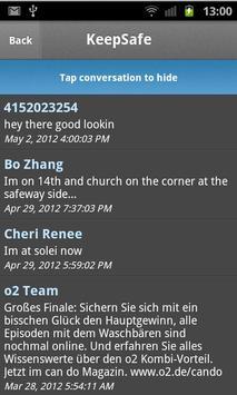 Hide SMS - private text vault apk screenshot