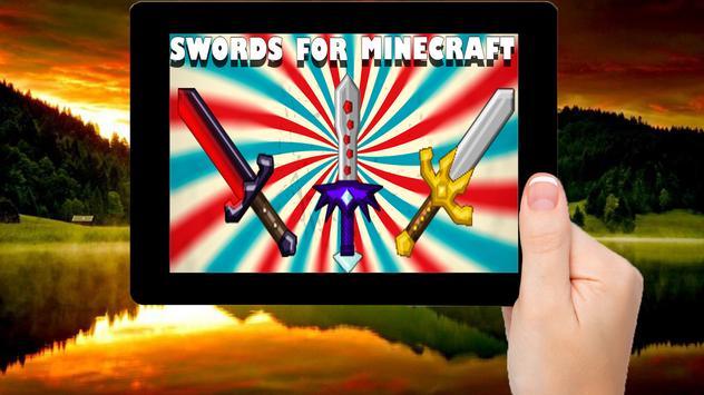 Mod swords to minecraft apk screenshot