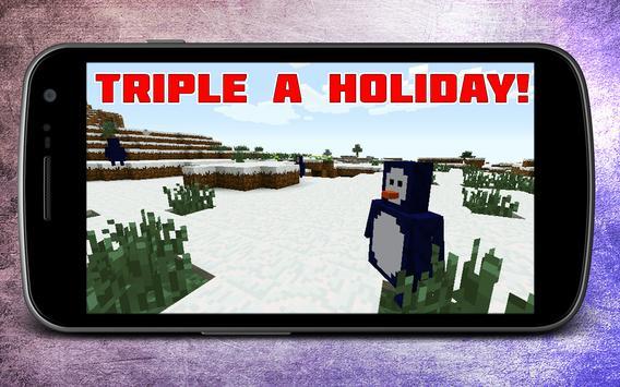 Winter mod for Minecraft apk screenshot