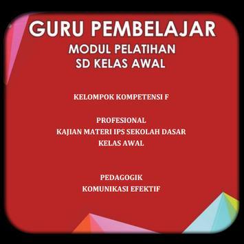 Modul SD Kelas Awal KK-F poster