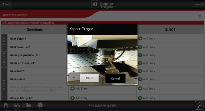 Kepner-Tregoe for Tablets Free apk screenshot