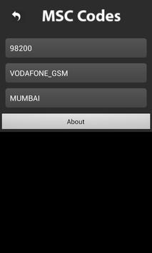 MSC Codes (India) apk screenshot