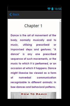 How To Dance Guide apk screenshot