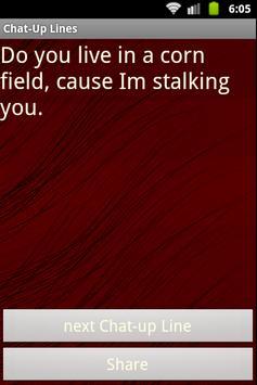 Best Chat-up Lines apk screenshot