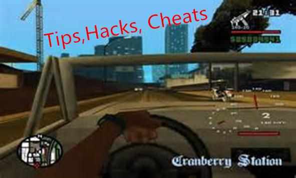 Key GTA Hack SAN ANDR apk screenshot