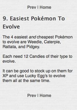 Secrets for Pokemon GO - Tips apk screenshot
