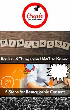 Guide for Pinterest Businesses poster