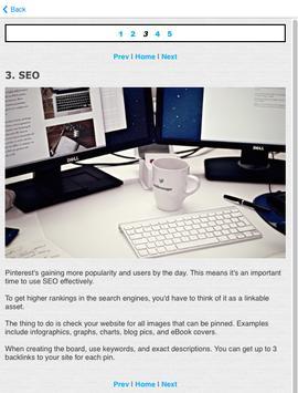 Guide for Pinterest Businesses apk screenshot
