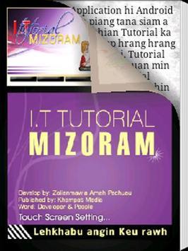 I.T Tutorial Mizoram poster