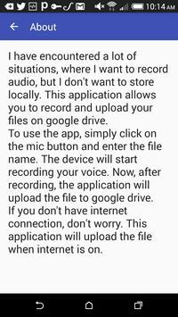 SPY RECORDER apk screenshot